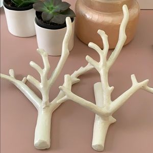 Anthropologie Decorative Branches/ Jewelry Hooks